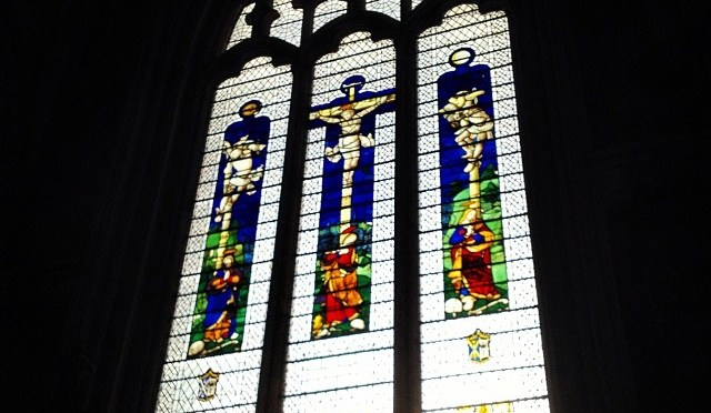 The window that was once the east window at @StMarysRickyLEP now in @York_Minster #StainedGlass #Window #York #Minster #Church