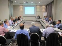 Meeting industry representatives in Tallinn, October 2013. Photo: Susann Warnecke