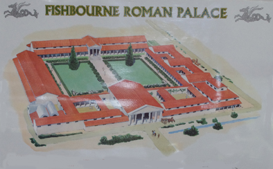 Travels in Southern England – Fishbourne Palace (1/2)