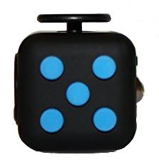 Fidget Cube negru/albastru
