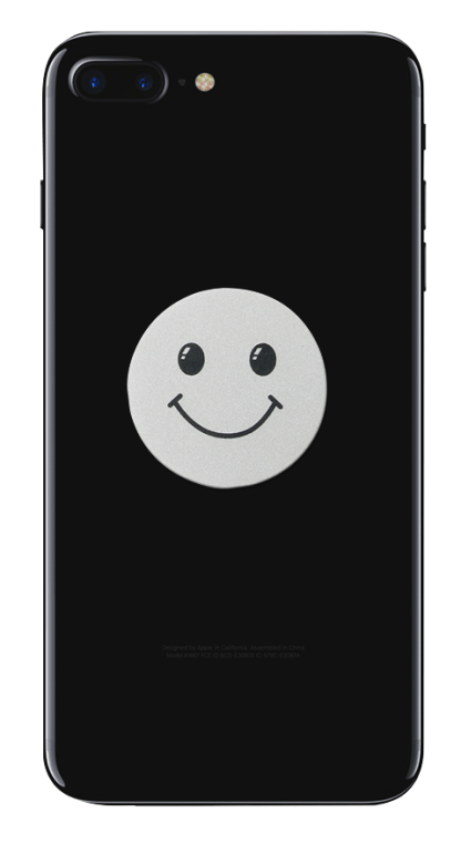 Iphone negru smiley