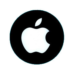 disc metalic apple