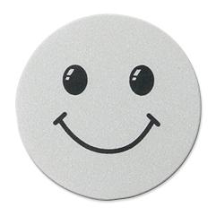disc metalic smiley gri