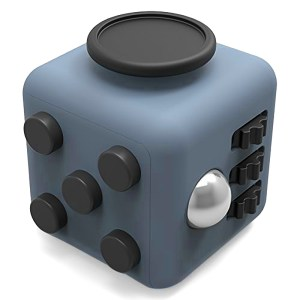 fidget cube gri negru