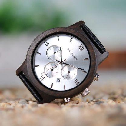 Ceas din lemn Bobo Bird P28-2