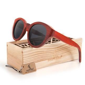 Ochelari de soare din lemn Bobo Bird dama