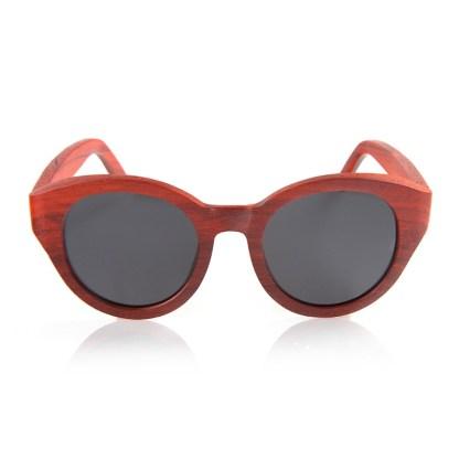 Ochelari de soare din lemn de bambus Bobo Bird dama