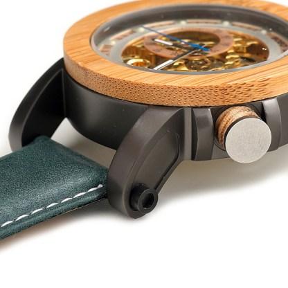Ceas din lemn Bobo Bird mecanic