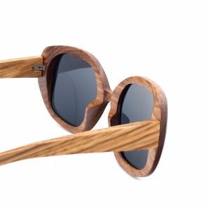 Ochelari de soare din lemn dama
