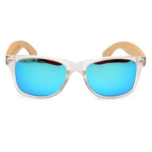 Ochelari de soare Bobo Bird transparent lentila albastru