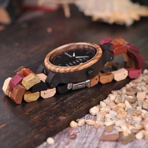 Ceas din lemn Bobo Bird P14-4