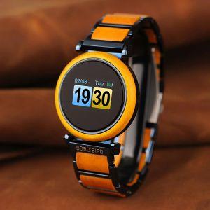 Smartwatch Bobo Bird din lemn