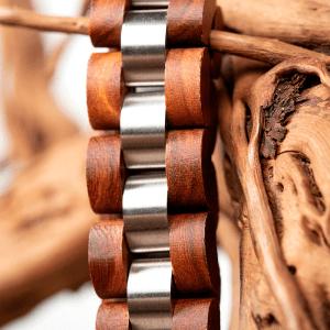 Bratara din lemn Bobo Bird barbati S05-2
