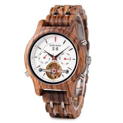 Ceas de dama din lemn Bobo Bird mecanic Q27-4