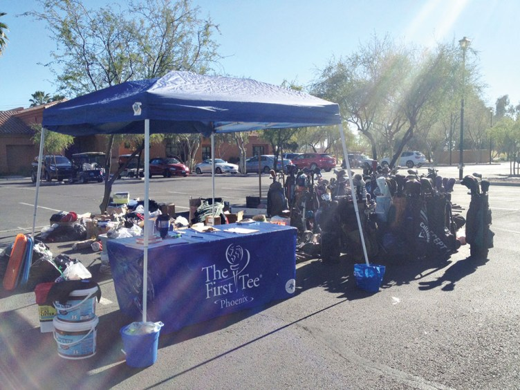 Sample of 2015 TFT Golf Equipment Drive donations