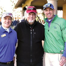 PROS and PREZ, left to right: Dave Vader, Ray Clements, Jason Whitehill
