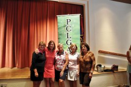 Some of Flight 1, First Place winners: Kathy Hubert-Wyss, Barbara McKinney, Vicki Ray, Kittie Day, Carolyn Apodaca