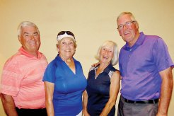 Par Tee Second Place Palms Course - Gene and Pat Howard, Hattie Mulcahy, Shawn Mayer