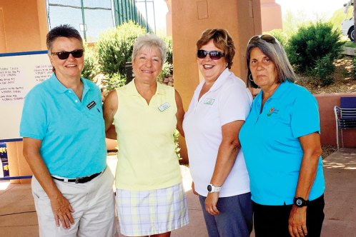 Sun City Grand First Place Back Nine - Diana Bedwell, Shellie Carbonne, Lorri Eggen, Phyllis Lefebvre