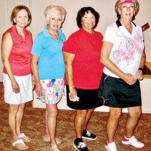 First place team: Diana Tirjer, Janis Korba, Lilinda Smith and Gail Hock
