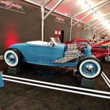 One highlight in the month of January was viewing the beautiful cars at the Barrett-Jackson auction in Scottsdale.