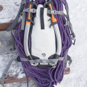 SnoJo 20 packed for Ice Climbing