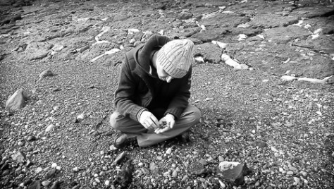 Me Pebble Hunting