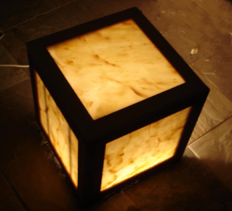 Illuminated Stone Tables