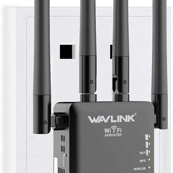 WiFi Range Extender 1200Mbps 2.4 & 5GHz Wireless
