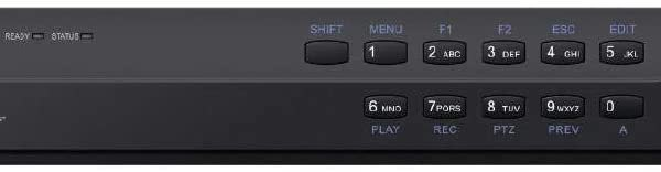 16CH IP Network Video Recorder 12MP