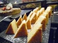 lemon almond torte