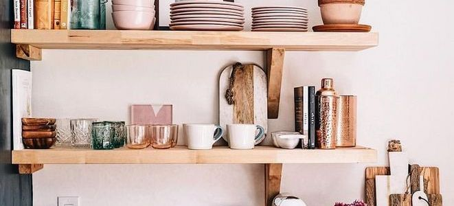 35+ Why Everyone Is Completely Mistaken About Rustic Kitchen Shelves
