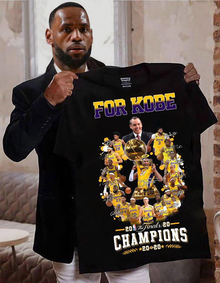 For Kobe The Finals Champions Shirt
