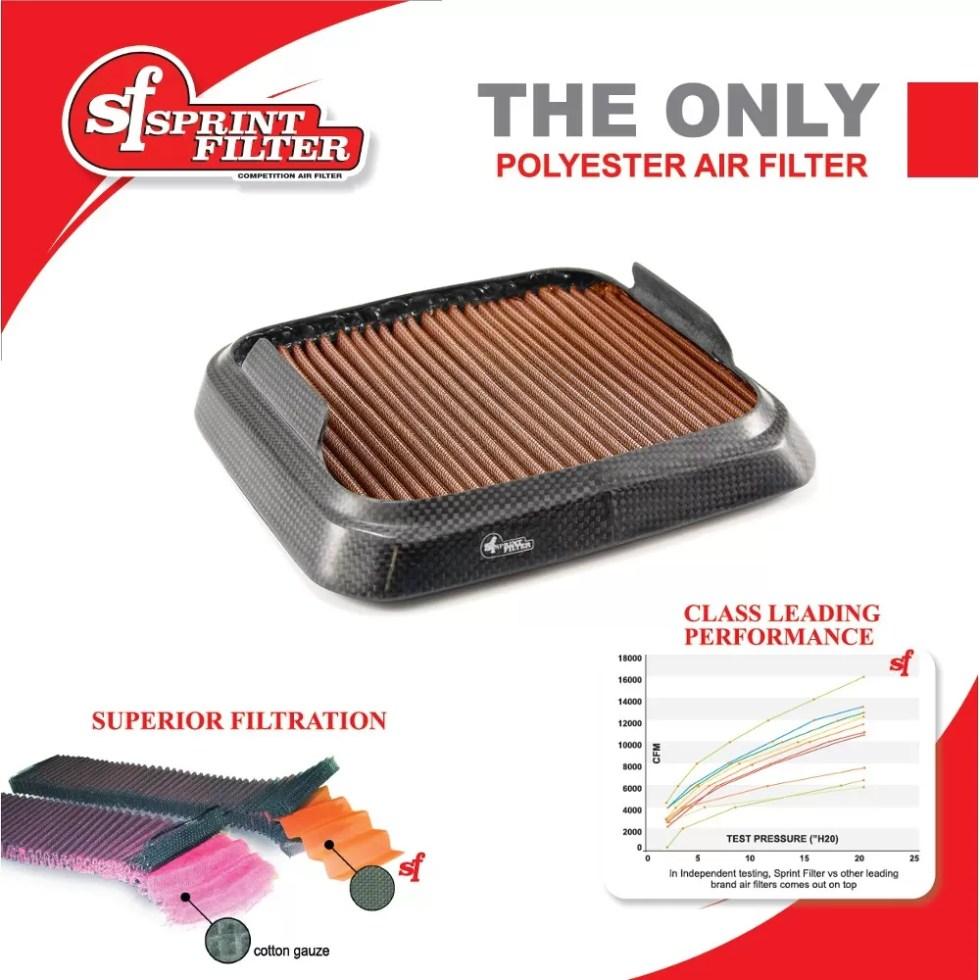Filtro de Ar Sprint Filter 06