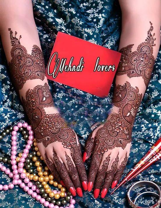 Hands Mehndi Design Style 2017