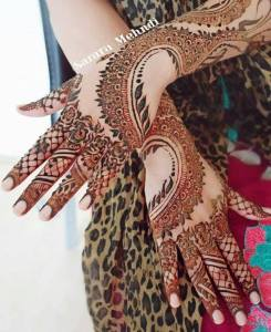 Stylish Mehandi Designs Tattoos 2017