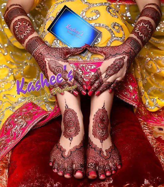 Dullhan Hand Feet Henna Designs 2017
