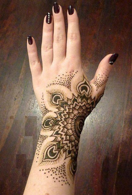 Easy Hand Henna Design 2017