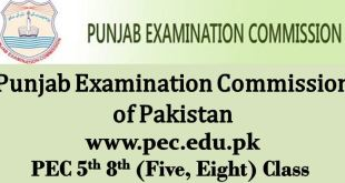 PEC Punjab Examination Commission Pakistan
