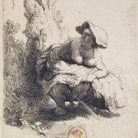 La femme qui pisse de Rembrandt