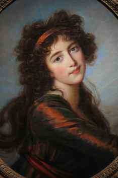 Vigée Le Brun, La Princesse Anna Alexandrovna Golitzyna, vers 1797, The Mary Frick Jacobs Collection