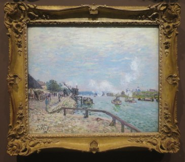 Alfred Sisley, La Seine à Grenelle, 1878, Denver Art Museum Collection.