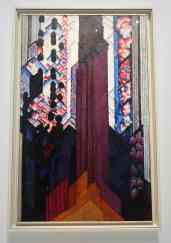 Kupka, Réminiscence d'une cathédrale, huile sur toile, 1920-1930, Chicago, The Art Institute of Chicago