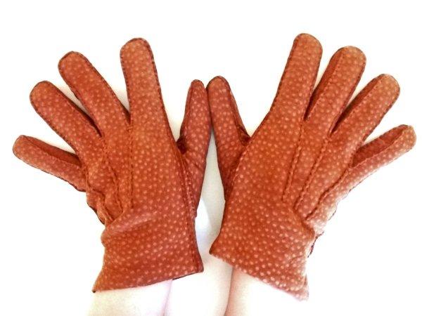guanti di carpincho