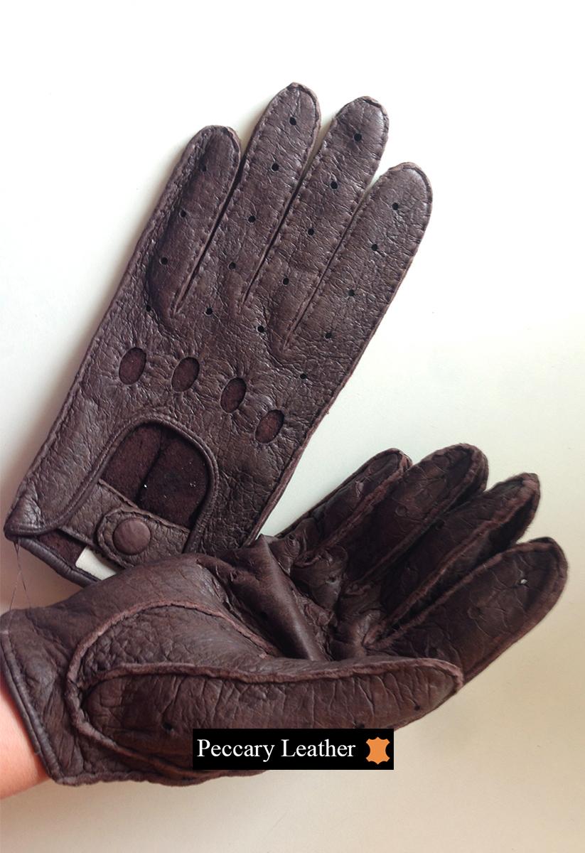 Peccary Lederhandschuhe