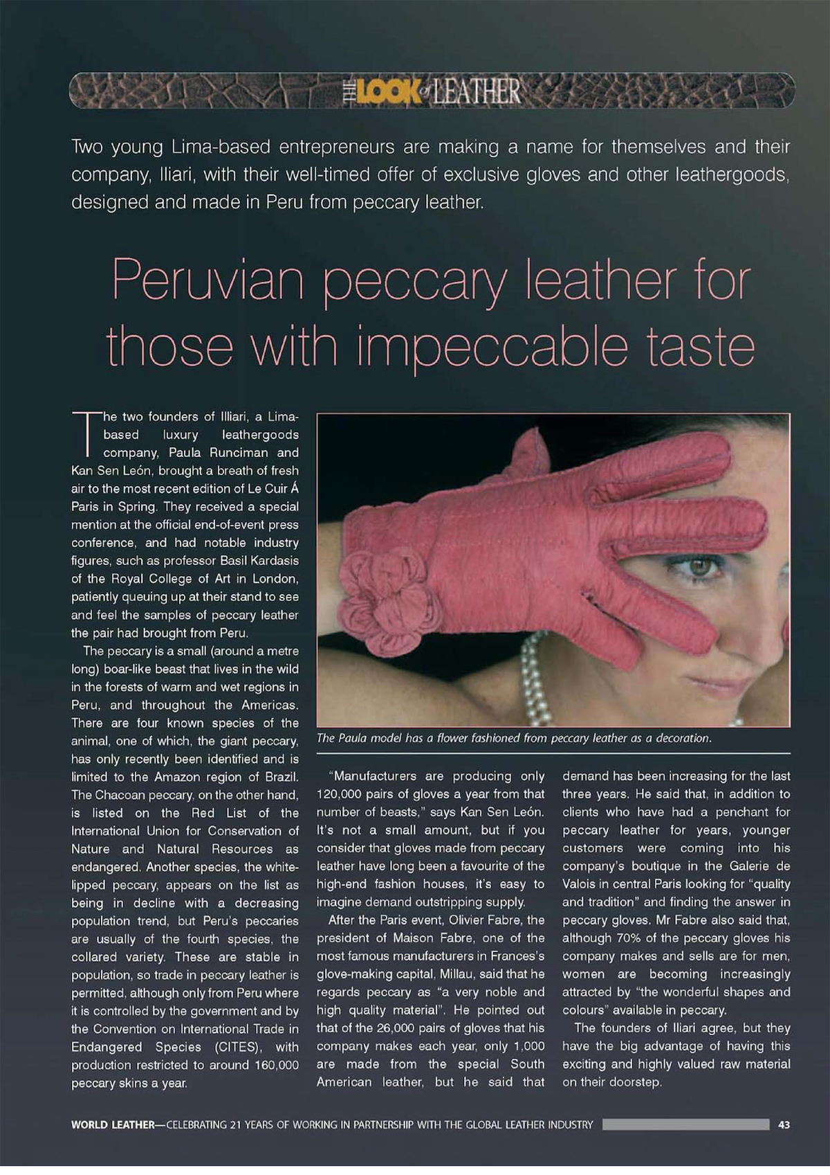 Revistă WorldLeather