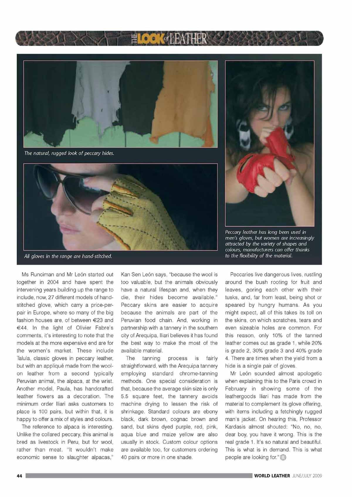 WorldLeather Magazine