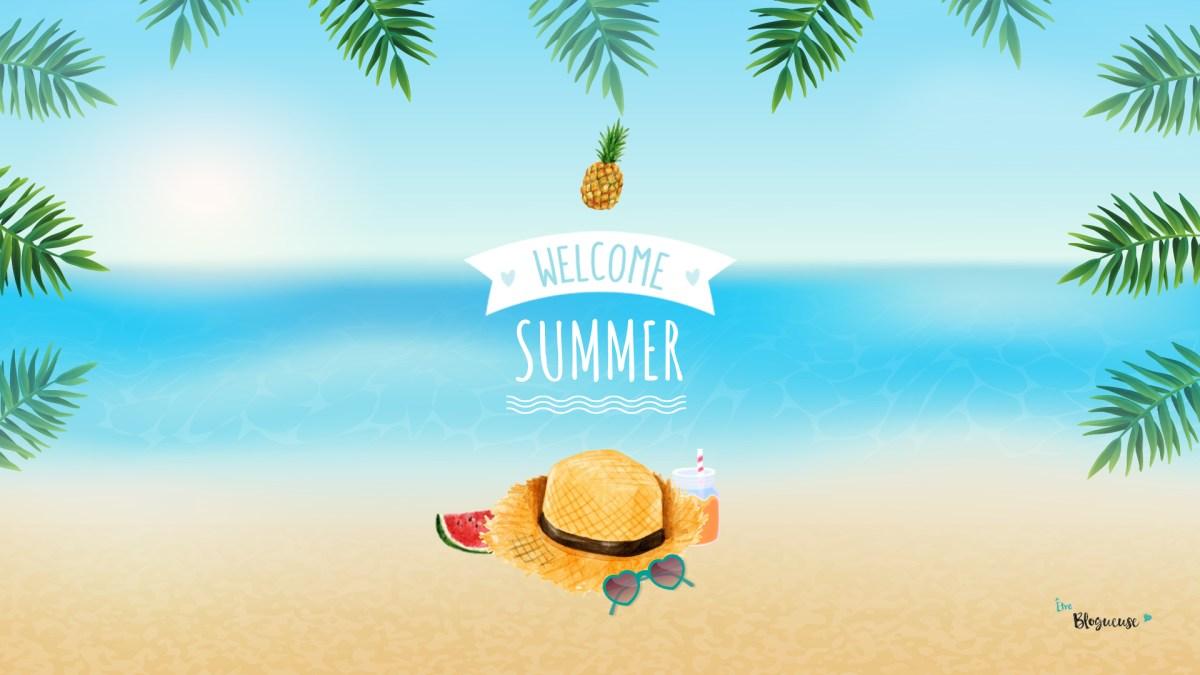 Fonds d'écran d'été : Emmenez la plage au bureau !