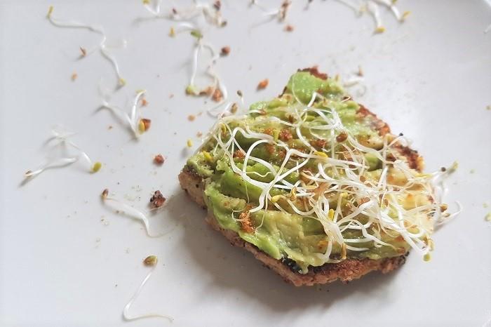 Idées de petits déjeuners sains, rapides et gourmands - Recettes de petits déjeuners équilibrés - Toasts d'avocat
