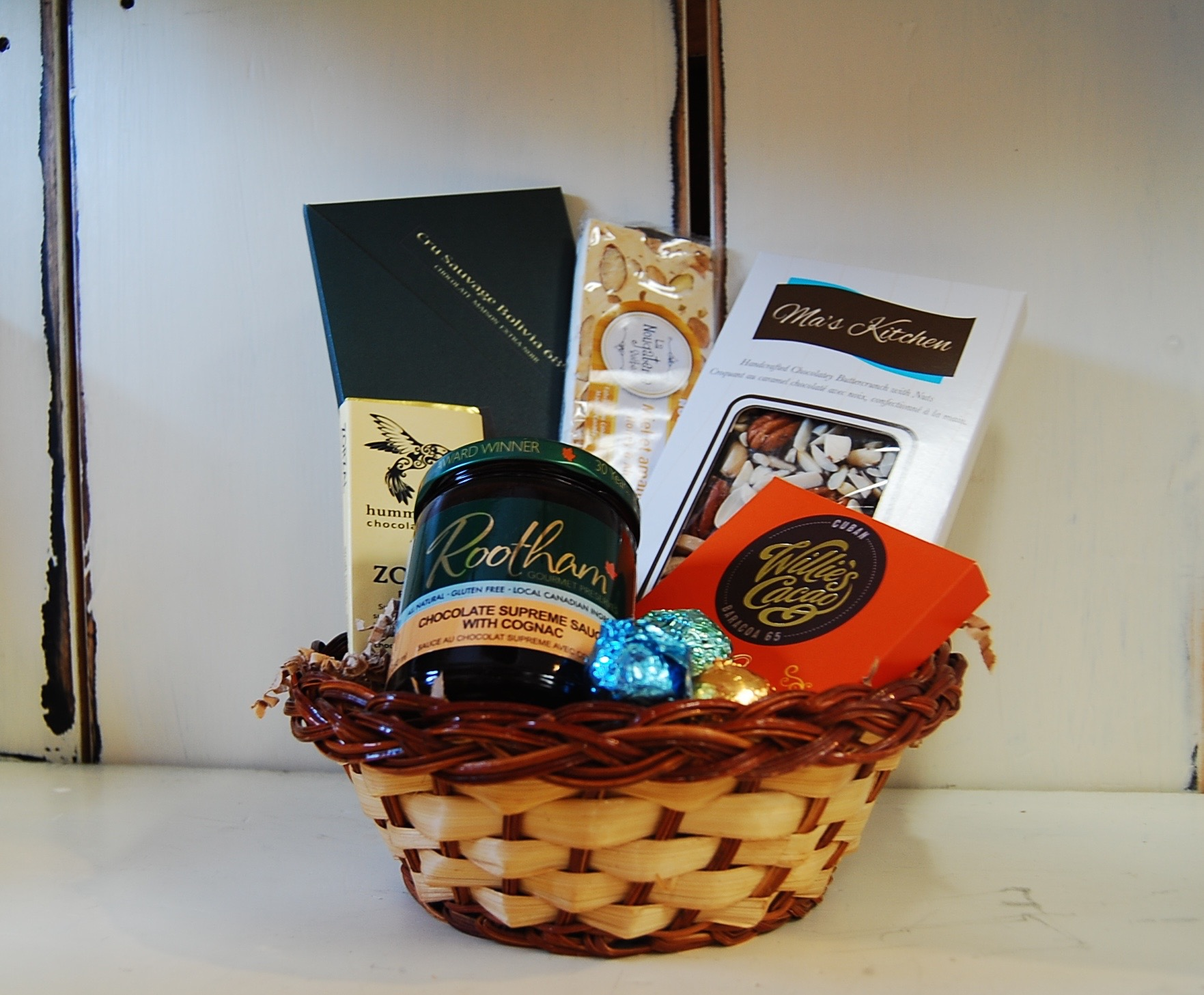 Almonte Gift Basket - Dreams of Chocolate - Pêches & Poivre from Sweet to Savoury